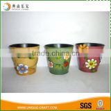 2016 Countryside style garden decorative flower planter pot                                                                                                         Supplier's Choice