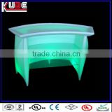 LED illuminated furniture bar counter design/modern home bar counter/office furnture office counter design