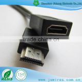 Customize female to male 1080p HDMI cable with CE FCC ATC approval support paypal