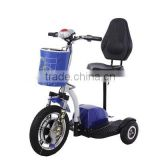 electric mobility scooter with reverse gear/3 wheel electric scooter/motor scooter trike