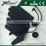 Electric carbon fiber heating element for gloves mak hand warming