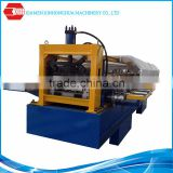 Automatic color steel sheet metal rolling gutter roll forming machine
