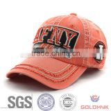 Washed Baseball Cap and Hat with Rhinestones