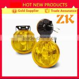 China supplier 12v universal tractor trailer parts head light fog lamp