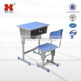 Xinhui school furniture sets student desk and chair with bottom price