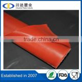 2015 Factory wholesale temperature resistance double sided insulation silicone rubber fabric coated fiberglass
