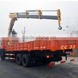 Dongfeng 10T/12T truck with crane japan original tadano 25 ton used truck crane truck mounted crane for sale