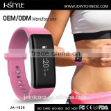 New Fashionable Bluetooth adjustable bracelet digital heart rate monitor with long battery life