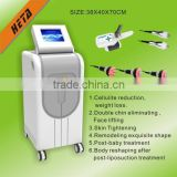Guangzhou HETA Newest and good design!!!Cryo cavitation RF face lifting remove wrinkles Machine