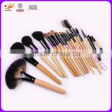 Facial Cosmetic Brush Set with Hand bag