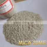 Wet/Dry Ground Mica Powder White for decoration,rubber,plastic,paint,coating,chemical,building material