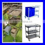 Best price plastic hospital food trolley with fast delivery