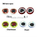 The realistic wholesale 3 color 3D fishing lure eyes