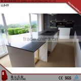 Rectangular shape Indian Black Indian black polished granite table tops