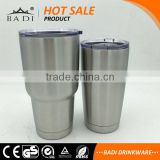 20 oz double wall sus 304 LFGB standard Vacuum Insulated Stainless Steel Tumbler mug with Straw Compatible Lid