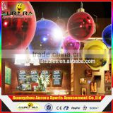 Hot Sale Stage Customized Advertising PVC Mirror Ball Inflatable Disco Mirror Balloon For Decoration