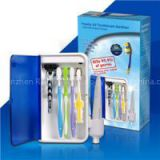Wall Mountable UV Toothbrush Sanitizer