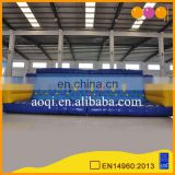 AOQI inflatable sport game moving inflatable rock climbing wall with factory cheap price