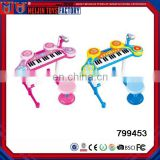 Wonderful design 31 keys musical keyboard electron mini piano with microphone for kids