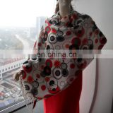 Floral Printing Fashion Pashmina Scarf For Spring, Summer