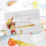 Customized hot sale for postcards printing logo