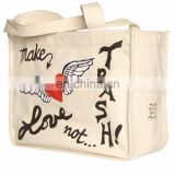High quality foldable shopping bag / laminated carrying bag/ canvas bag