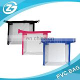 Designer Clear Cosmetic Zipper Sewing PVC Packaging Bag