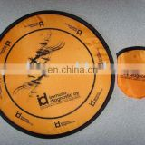 Promotional polyester frisbee