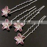 2013 newest fashion alloy rhinestone hair pin