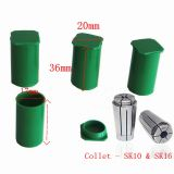 Collet SK10 /SK16 package plastic tool box small tool box protective storage 17mm * 35mm