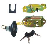 Bus rear door lock,Yutong Kinglong Higer Golden Dragon Zhongtong Bus Parts(BDL039)