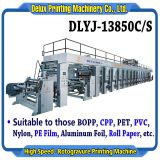 High Speed Computerized Automatic Rotogravure Printing Machine (DLYJ-13850C/S)