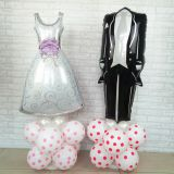 wedding dress balloon wedding decoration balloon foil balloon helium balloon hotsale