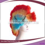 Fashion mixed color cheap synthetic Comb wig