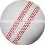 White cricket Leather Ball