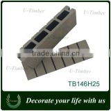Unique WPC deck board is your best choice for outdoor decoration materials