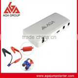 2016 AGA A9 Mini car jump starter power supply auto jumper start pack for diesel vehicles