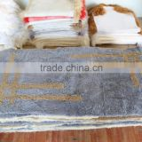 Fashion Tibet lamb carpet /plate