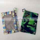 Fashion Camouflage Shape Pencil pouch/Student Pencil Case/Promotional Gift Stationery Bag