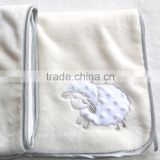 Custom high quanlity home textile baby sac blanket