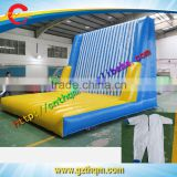 inflatable Velcro Sticky Wall, Inflatable Jumping Sticky Game / hot sale inflatable velcro wall
