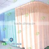 Waterproof and flame retardant polyester beautiful print hospital bed screen curtain fabric                                                                         Quality Choice
