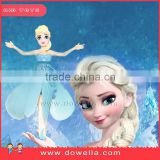 Frozen elsa toys as flying fairy + led flashing, the high quality frozen toys in disney audit factory