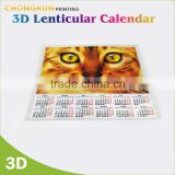 2016 Hot Sale Company Table Calendar Printing