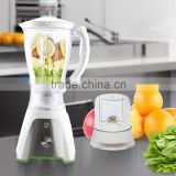 Jialian Factory Price JL-B316 2 in 1 Spin Button 2 Speeds Plastic Electric Food Drying Blender Machine