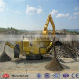 dongfang brand Wide applications mobile stone crusher plant impact mobile crushing plant for sale