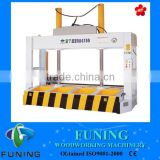 Plywood hydraulic manual wood cold press machine