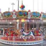 Amusement Park Equipments Classic Double Deck Carousel for Sale