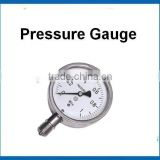 stainless steel bourdon tube Gas lpg Pressure Gauge