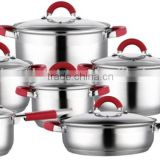 Cookware sets,cast iron stainless steel cookware ,saucepot,stockpot